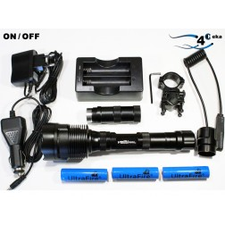 Kit  Lanterna 3800 Lumens  Modo ON / OFF