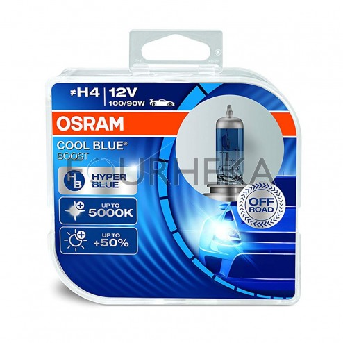 Kit Lâmpada OSRAM Cool Blue Boost FHK-H4CBB