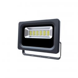 Projetor Led Rectangular Industrial 10Watt, FHK-BR-FL10W-07-VP com 1200 Lumens