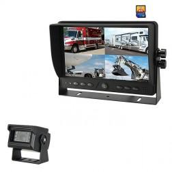 Kit Monitor TFT LCD 9 Polegadas FHK-GT-918FG-DVR & Câmara