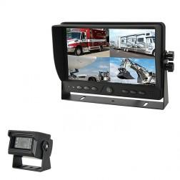 Kit Monitor TFT LCD 9 Polegadas FHK-GT-918FG & Câmara
