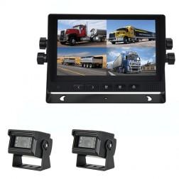 Kit Monitor TFT LCD 7 Polegadas FHK-GT-778FG & 2 Câmaras