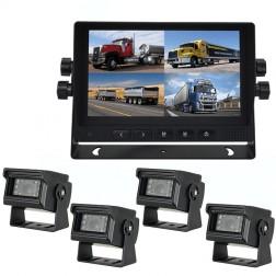Kit Monitor TFT LCD 7 Polegadas FHK-GT-778FG & 4 Câmaras