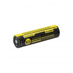 Pilha / Bateria 18650 recarregável p/ Lanterna FHK-NL1835R
