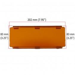 Cobertura / Capa Amarela  FHK-202MMA-20CM para Barra led com 20 cm