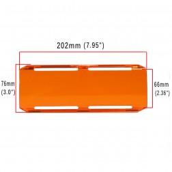 Cobertura / Capa Amarela  FH-202MM-20CM para Barra led com 20 cm