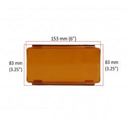 Cobertura / Capa Laranja  FHK-152MMA-15CM para Barra led com 15 cm