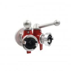 Disjuntor com válvulas em esfera com 2 Saídas / C-DD