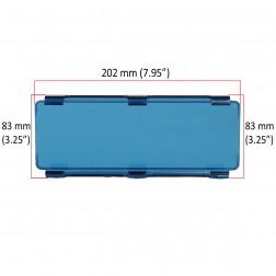 Cobertura / Capa Azul  FHK-202MMA-20CM para Barra led com 20 cm