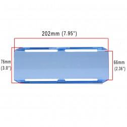 Cobertura / Capa Azul  FH-202MM-20CM para Barra led com 20 cm