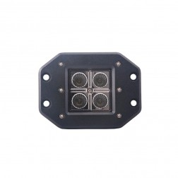 Projector Encaixe Cree Led 16Watt FHK-1604FE com 1600 Lumens (Espalhador)