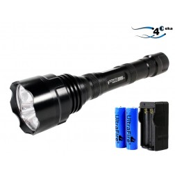 Kit Lanterna Cree led 2000 Lumens