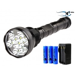 Kit Lanterna Cree Led 13000 Lumens