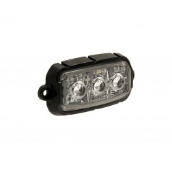 Strob & Micro Led Ultra Pequeno Branco FHK-F3 R65 R10 SAE