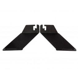 FHK-OP015 Conjunto de suportes de capô para barra led 20 a 21 Polegadas em Jeep Wrangler JK