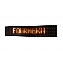 Painel de mensagens variáveis led ambar  FHK-16128-1334