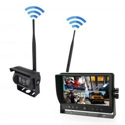 Kit Wireless Monitor TFT LCD 9 Polegadas FHK-GT-918WT & Câmara 720P