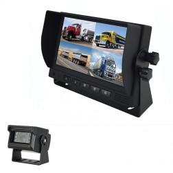 Kit Monitor TFT LCD 7 Polegadas FHK-GT-778T & Câmara