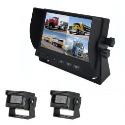 Kit Monitor TFT LCD 7 Polegadas FHK-GT-778T & 2 Câmaras