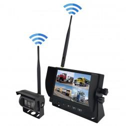 Kit Wireless Monitor TFT LCD 7 Polegadas FHK-GT-778WT & Câmara 720P