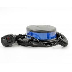 FHK-H831B Azul - Rotativo Pirilampo Super Slim Led Magnético