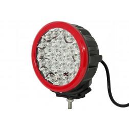 Projector vermelho Cree Led 140 Watt FHK-14028R com 14000 Lumens