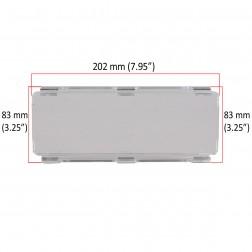 Cobertura / Capa Transparente  FHK-202MMA-20CM para Barra led com 20 cm