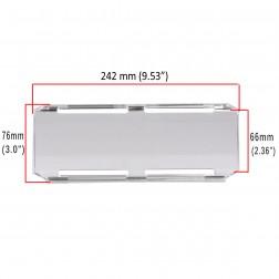 Cobertura / Capa transparente  FHK-242MM-24CM para Barra led com 24 cm