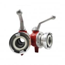 Disjuntor com válvulas em esfera com 2 Saídas / B-CC