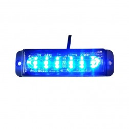 LW0035  Strob 30Watt Azul  R10 & R65  Homologado