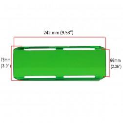 Cobertura / Capa Verde  FHK-242MM-24CM para Barra led com 24 cm