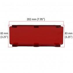 Cobertura / Capa Vermelha  FHK-202MMA-20CM para Barra led com 20 cm