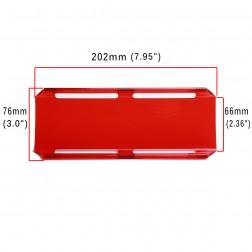 Cobertura / Capa Vermelha  FH-202MM-20CM para Barra led com 20 cm
