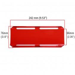 Cobertura / Capa Vermelha  FHK-242MM-24CM para Barra led com 24 cm